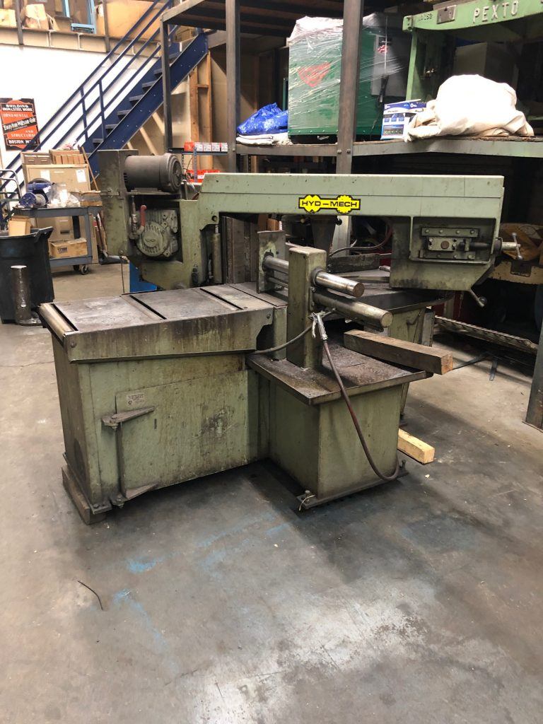 Used Hyd-Mech S-22 Horizontal Band Saw