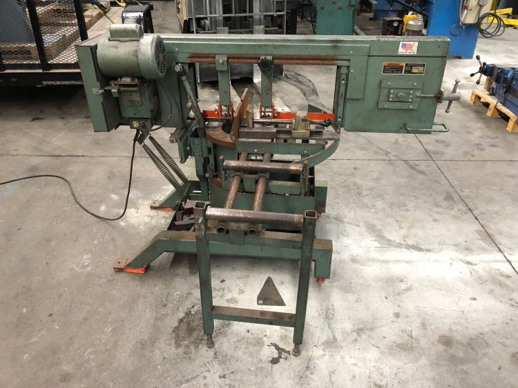 Ellis 1800 Horizontal Pivot Band Saw