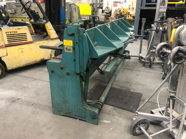 Wysong A-120 10' Air Shear